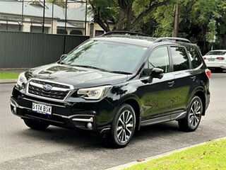 2017 Subaru Forester S4 MY18 2.5i-S CVT AWD Black 6 Speed Constant Variable Wagon.