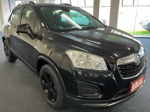 Used Holden Trax TJ MY15 Active Winnellie, 2015 Holden Trax TJ MY15 Active Black 5 Speed Manual Wagon