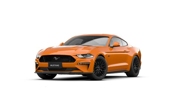 New Ford Mustang FN 2021.50MY GT Tanunda, 2021 Ford Mustang FN 2021.50MY GT Twister Orange 6 Speed Manual Fastback
