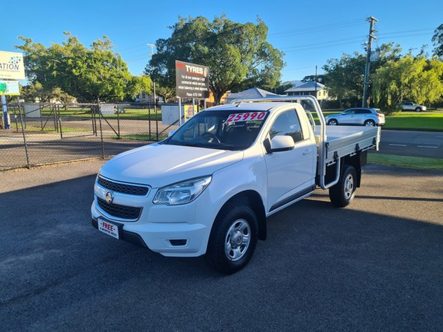 Used Holden Colorado RG LS Ingham, 2015 Holden Colorado RG LS Summit White 6 Speed Automatic Cab Chassis