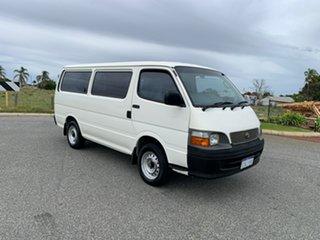 2004 Toyota HiAce LH172R White 5 Speed Manual Long Van.