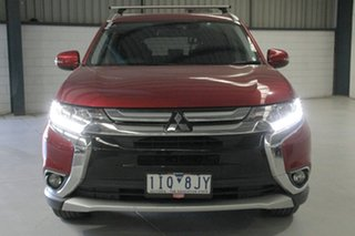 2016 Mitsubishi Outlander ZK MY17 LS Safety Pack (4x2) Red Continuous Variable Wagon