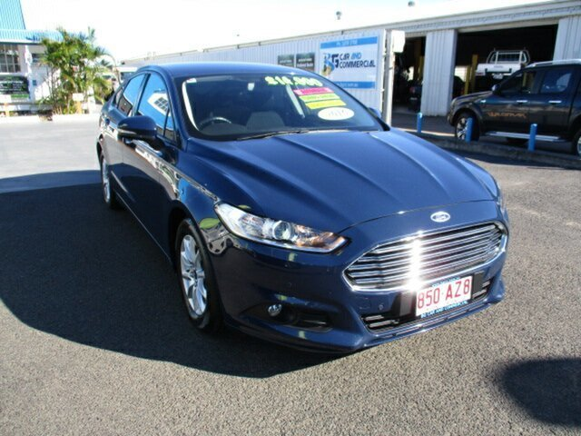 Used Ford Mondeo Woodridge, 2016 Ford Mondeo AMBIENTE Blue 6 Speed Automatic Hatchback
