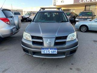 2006 Mitsubishi Outlander ZF MY06 Activ Grey 4 Speed Auto Sports Mode Wagon.