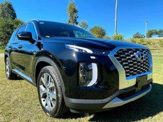 2021 Hyundai Palisade LX2.V1 MY21 Highlander 2WD Timeless Black 8 Speed Sports Automatic Wagon.