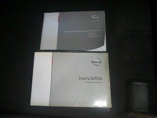 2012 Nissan Navara D40 S6 MY12 ST-X 550 Silver 7 Speed Automatic Utility.