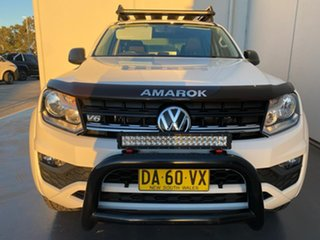 2018 Volkswagen Amarok 2H MY19 TDI550 4MOTION Perm Core White 8 Speed Automatic Utility.