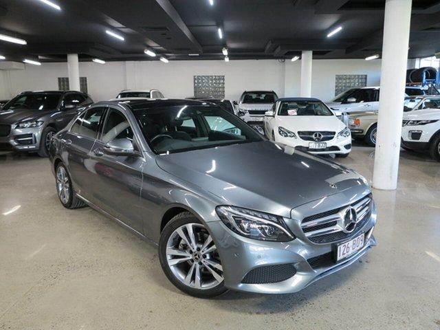 Used Mercedes-Benz C-Class W205 807+057MY C200 9G-Tronic Albion, 2017 Mercedes-Benz C-Class W205 807+057MY C200 9G-Tronic Grey 9 Speed Sports Automatic Sedan