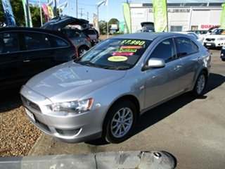 2009 Mitsubishi Lancer RX Silver 4 Speed Auto Active Select Hatchback.