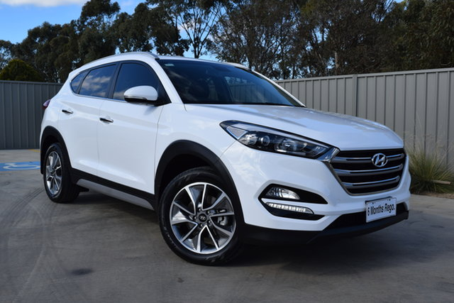Used Hyundai Tucson TL2 MY18 Elite 2WD Echuca, 2018 Hyundai Tucson TL2 MY18 Elite 2WD White 6 Speed Sports Automatic Wagon