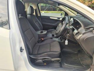 2009 Ford Falcon FG Ute Super Cab White 4 Speed Automatic Utility