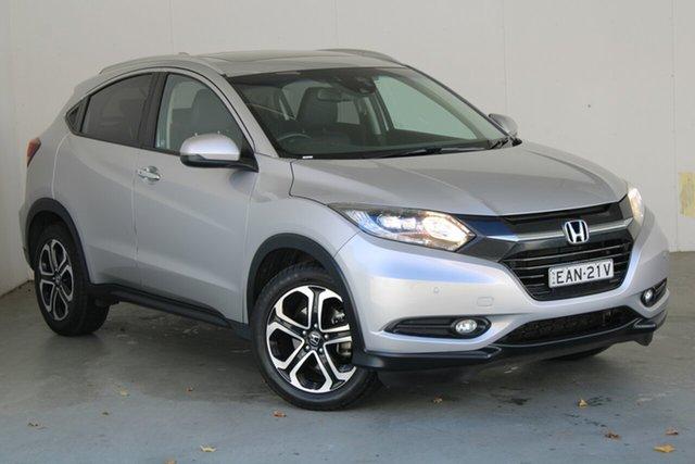 Used Honda HR-V MY15 VTi-L Phillip, 2015 Honda HR-V MY15 VTi-L Silver 1 Speed Constant Variable Hatchback