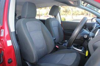 2011 Nissan Dualis J10 Series II ST (4x2) Red 6 Speed Manual Wagon