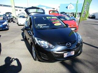 2014 Mazda 2 NEO SPORT Black 5 Speed Manual Hatchback.
