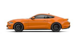 2021 Ford Mustang FN 2021.50MY GT Twister Orange 6 Speed Manual Fastback