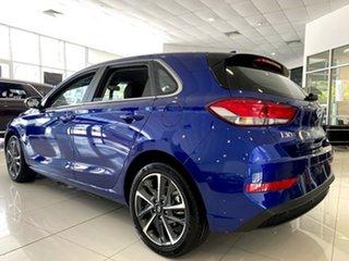 2021 Hyundai i30 PD.V4 MY21 Active Intense Blue 6 Speed Sports Automatic Hatchback