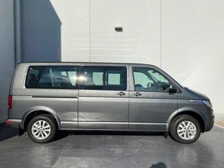 2021 Volkswagen Caravelle T6.1 MY21 TDI340 LWB DSG Trendline Indium Grey 7 Speed.