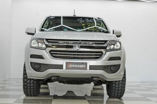 2018 Holden Colorado RG MY19 LS (4x2) (5Yr) Silver 6 Speed Automatic Crew Cab Pickup