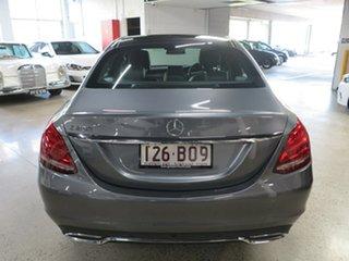 2017 Mercedes-Benz C-Class W205 807+057MY C200 9G-Tronic Grey 9 Speed Sports Automatic Sedan