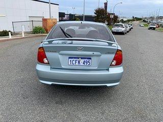 2004 Hyundai Accent LS 1.6 Blue 4 Speed Automatic Hatchback