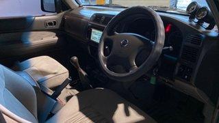 2002 Nissan Patrol GU III MY2002 ST Grey 5 Speed Manual Wagon