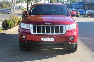 2011 Jeep Grand Cherokee WK Laredo (4x4) Red 5 Speed Automatic Wagon.