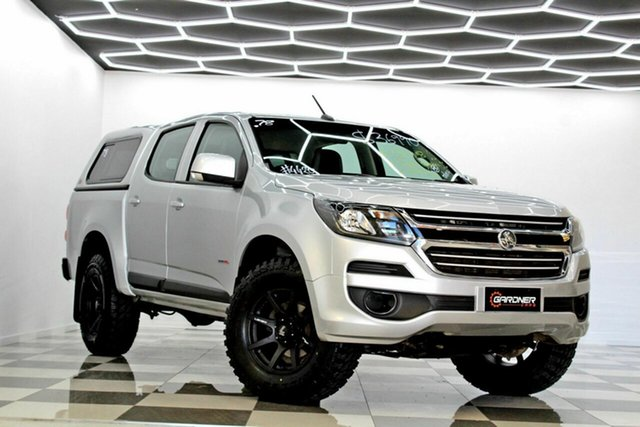 Used Holden Colorado RG MY19 LS (4x2) (5Yr) Burleigh Heads, 2018 Holden Colorado RG MY19 LS (4x2) (5Yr) Silver 6 Speed Automatic Crew Cab Pickup