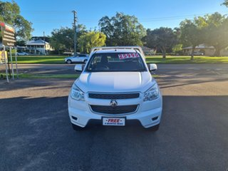 2015 Holden Colorado RG LS Summit White 6 Speed Automatic Cab Chassis.