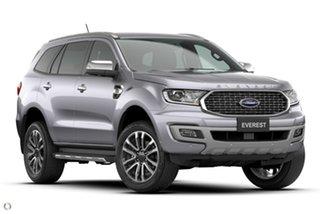 2021 Ford Everest UA II 2021.25MY Titanium Silver 10 Speed Sports Automatic SUV