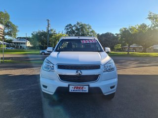 2015 Holden Colorado RG LS Summit White 6 Speed Automatic Cab Chassis