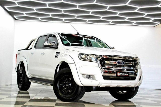 Used Ford Ranger PX MkII MY17 XLT 3.2 (4x4) Burleigh Heads, 2016 Ford Ranger PX MkII MY17 XLT 3.2 (4x4) White 6 Speed Manual Double Cab Pick Up