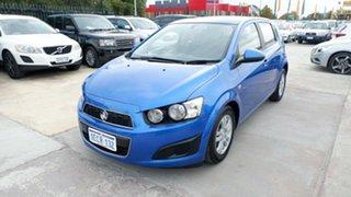2013 Holden Barina TM MY13 CD Blue 6 Speed Automatic Hatchback.