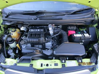 2010 Holden Barina Spark MJ CD Green 5 Speed Manual Hatchback