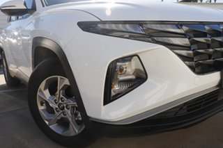 2021 Hyundai Tucson NX4.V1 MY22 2WD White Cream 6 Speed Automatic Wagon.