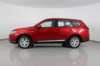 2019 Mitsubishi Outlander ZL MY20 ES 7 Seat (AWD) Red Continuous Variable Wagon