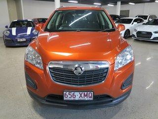 2016 Holden Trax TJ MY16 LS Orange 6 Speed Automatic Wagon.