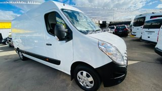 2014 Renault Master X62 Mid Roof LWB AMT RWD White 6 Speed Sports Automatic Single Clutch Van.