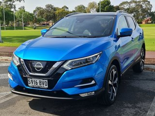2018 Nissan Qashqai J11 Series 2 N-TEC X-tronic Blue 1 Speed Constant Variable Wagon.
