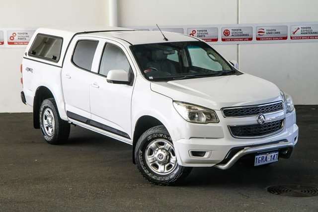Pre-Owned Holden Colorado RG MY14 LX (4x4) Rockingham, 2014 Holden Colorado RG MY14 LX (4x4) 6 Speed Automatic Crew Cab Pickup