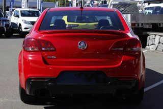 2015 Holden Commodore VF MY15 SV6 Storm Red 6 Speed Sports Automatic Sedan