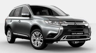 2021 Mitsubishi Outlander ZL MY21 ES 2WD Silver 6 Speed Constant Variable Wagon