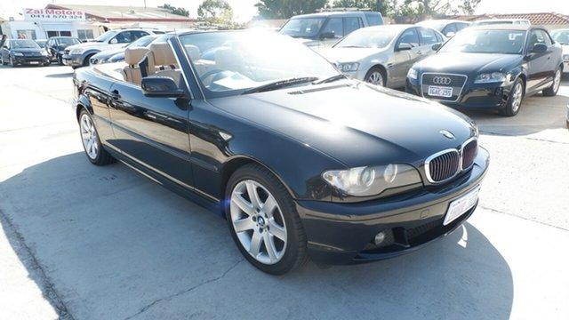 Used BMW 325Ci E46 MY05 325Ci St James, 2006 BMW 325Ci E46 MY05 325Ci Black 6 Speed Seq Manual Auto-Clutch Convertible
