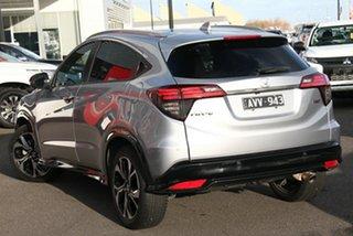 2018 Honda HR-V MY18 RS Silver 1 Speed Constant Variable Hatchback.