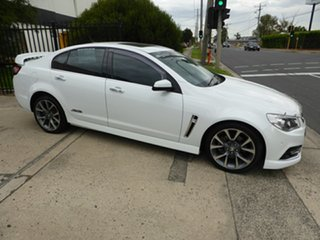 2014 Holden Commodore VF MY14 SS V White 6 Speed Sports Automatic Sedan