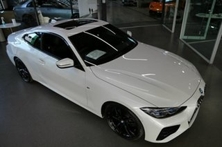 2020 BMW 4 Series G22 420i Steptronic M Sport White 8 Speed Sports Automatic Coupe