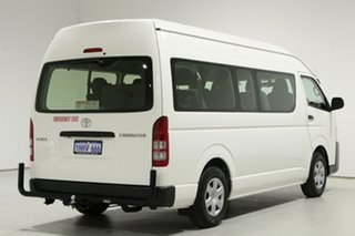 2018 Toyota HiAce KDH223R MY16 Commuter White 4 Speed Automatic Bus