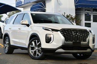 2021 Hyundai Palisade LX2.V1 MY21 Highlander AWD White Cream 8 Speed Sports Automatic Wagon.