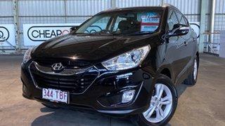 2013 Hyundai ix35 LM2 Elite AWD Black 6 Speed Sports Automatic Wagon.