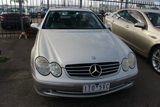 2004 Mercedes-Benz CLK-Class C209 MY05 CLK320 Avantgarde Silver 5 Speed Automatic Coupe.