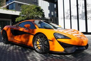 2015 McLaren 570S P13 Ventura Orange 7 Speed Sports Automatic Dual Clutch Coupe.